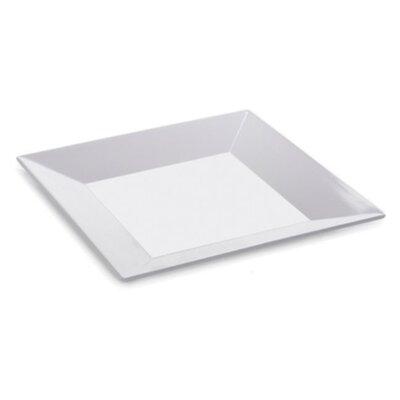 G.E.T Siciliano Square Plate in White
