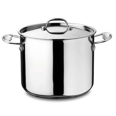 5.75 qt. 22 Glamour Stone Deep Stock Pot with Lid