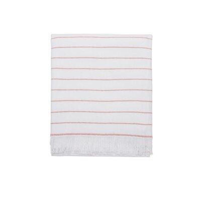 Solana 100% Cotton Beach Towel Color: Coral
