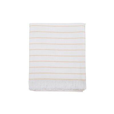 Solana 100% Cotton Beach Towel Color: Yellow
