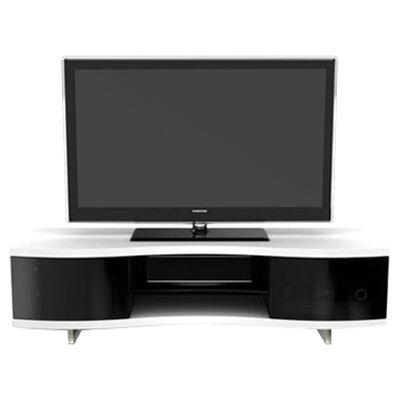"Ola Triple Wide 69"" TV Stand Color: Satin White"