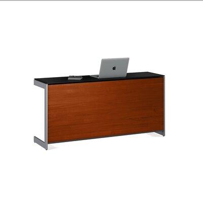"""Sequel 25"""" H x 59"""" W Desk Privacy Panel Finish: Cherry"""
