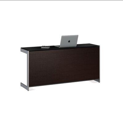 """Sequel 25"""" H x 59"""" W Desk Privacy Panel Finish: Espresso"""