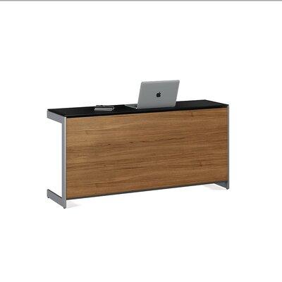 """Sequel 25"""" H x 59"""" W Desk Privacy Panel Finish: Walnut"""