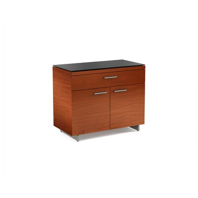 Sequel 2 Door Accent Cabinet Color: Natural Stained Cherry