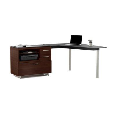 "Sequel 29.25"" H x 55"" W Desk Peninsula Orientation: Right Facing"
