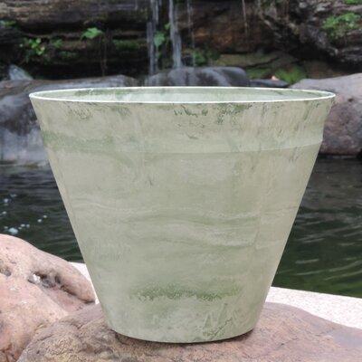 "Nile Fiber Clay Pot Planter Size: 10.24"" H x 11.81"" W x 11.81"" D"