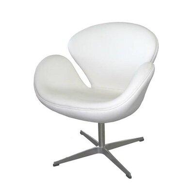 Inglaterra Lounge Chair Upholstery: White