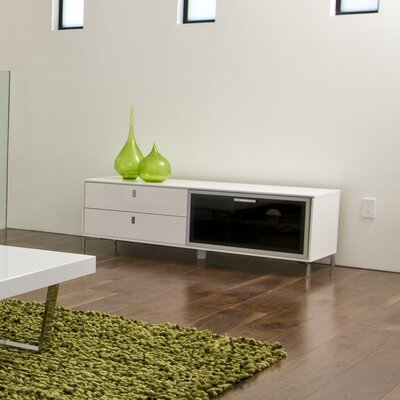"Lea 60"" TV Stand Color: White"