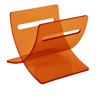 Hewish Magazine Tray Color: Orange