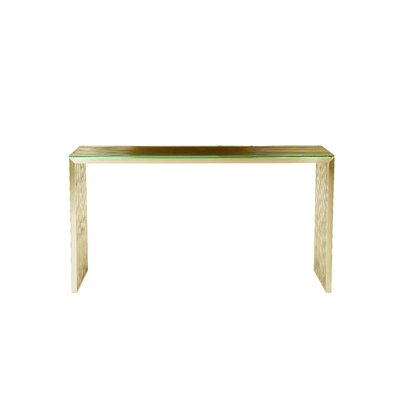 Hoang Console Table Color: Gold