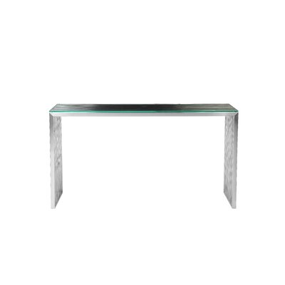 Hoang Console Table Color: Silver