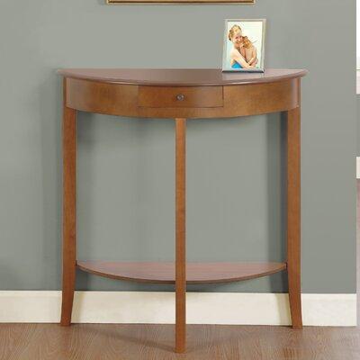 Console Table Color: Oak