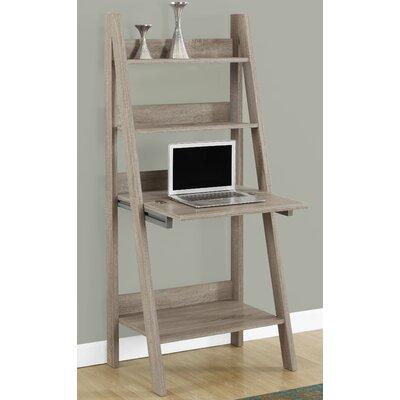 Ladder Desk Finish: Dark Taupe