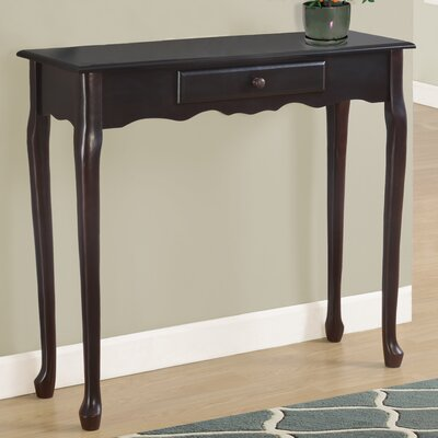 Console Table Color: Dark Cherry