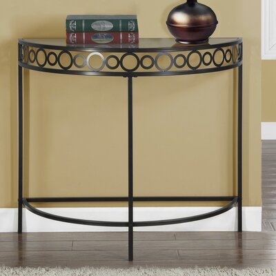 Hall Console Table Color: Chocolate