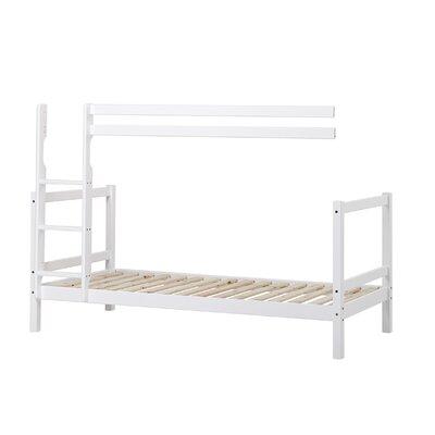 Hoppekids 200cm x 90cm Etagenbett Modul in Weiß