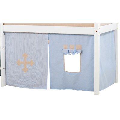 Hoppekids Vorhang in Fairytale Knight für 160cm x 70cm halbhohes Bett