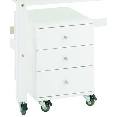 Hoppekids Rollcontainer mit 3 Schubladen