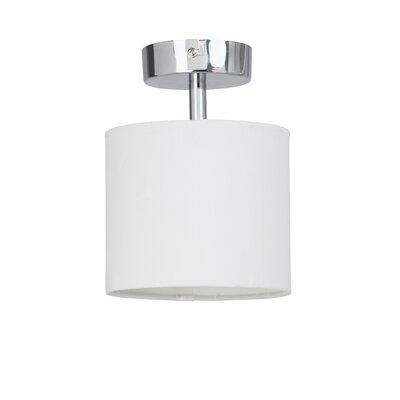 Brilliant Sandra 1 Light Semi-Flush Ceiling Light