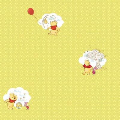 Disney Pooh Bother Free Days 10m L x 52cm W Roll Wallpaper