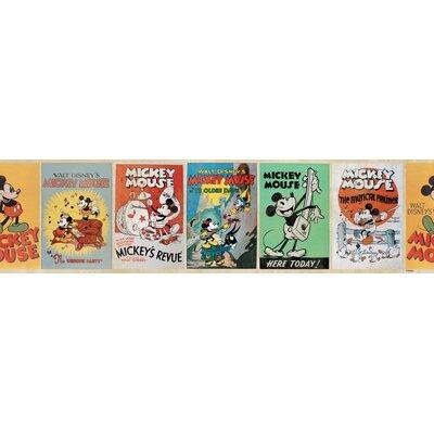 Disney Mickey Vintage 5m L x 15.9cm W Border Wallpaper