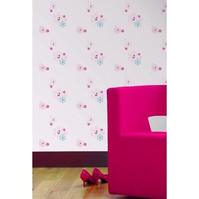 Disney Hello Kitty 10m L x 52cm W Roll Wallpaper