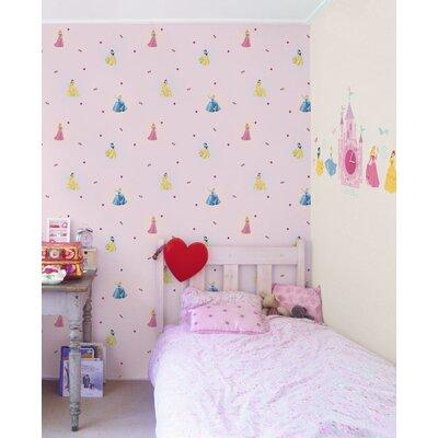 Disney Princess 10m L x 52cm W Roll Wallpaper