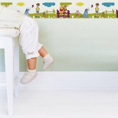 Disney Winne The Pooh Summer Stroll 5m L x 15.9cm W Border Wallpaper