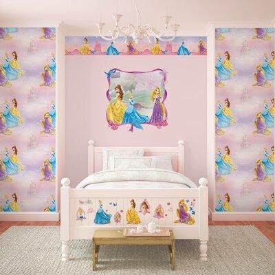 Disney Pretty as a Princess Border 5m L x 15.9cm W Border Wallpaper