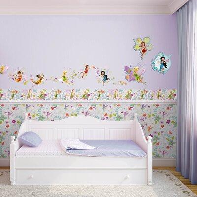 Disney Tinkerbell Fairytale Garden Border 5m L x 15.9cm W Border Wallpaper