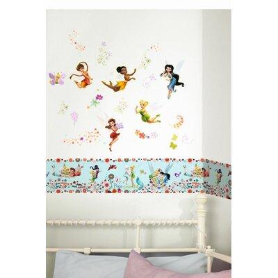 Disney Tinkerbell Pixie Promise 5m L x 15.9cm W Border Wallpaper