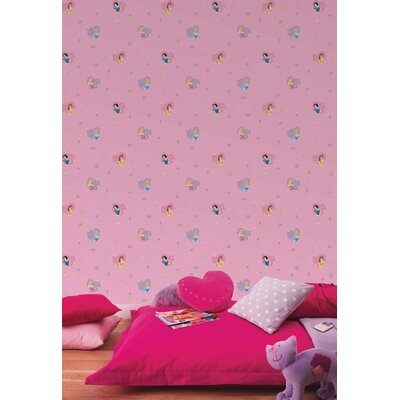Disney Princess Hearts 10m L x 52cm W Roll Wallpaper