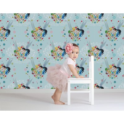 Disney Tinkerbell Pixie Promise 10m L x 52cm W Roll Wallpaper