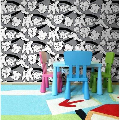Disney Mickey Handshake 10m L x 52cm W Roll Wallpaper