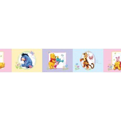 Disney Pooh Acre 5m L x 10.6cm W Border Wallpaper