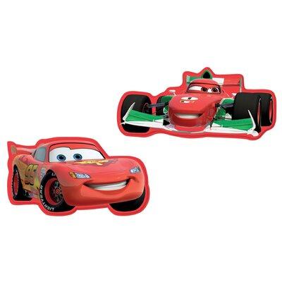 Disney 2 Piece Cars 2 Foam Elements Wall Sticker Set