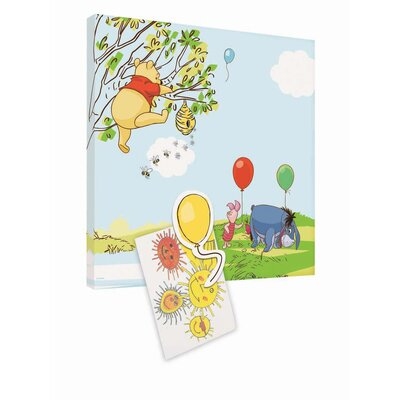 Disney Winnie The Pooh Magnetic Graphic Art Wrapped on Canvas
