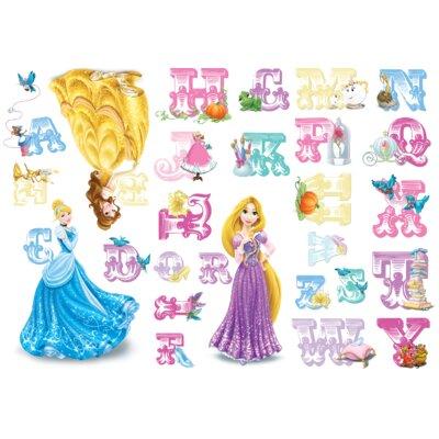 Disney Princess Alphabet Sticker