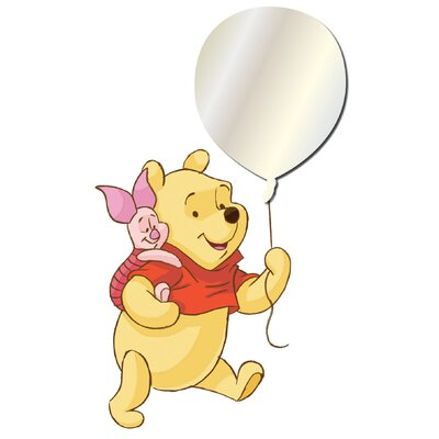 Disney Winnie The Pooh Mirror Sticker