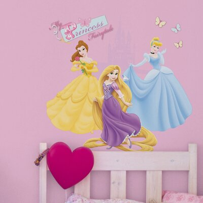Disney Princess Over The Bed Sticker