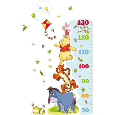 Disney Winnie The Pooh Growth Chart Wall Sticker