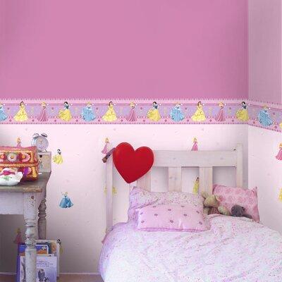 Disney Princess Of Hearts 5m L x 10.6cm W Border Wallpaper