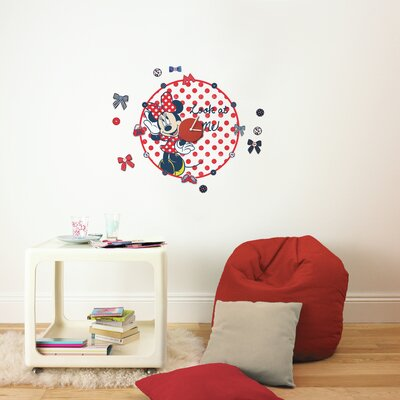 Disney Minnie Mouse Clock Sticker