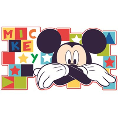 Disney Mickey Foam Wall Sticker