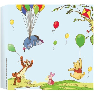 Disney Winnie The Pooh Graphic Art Wrapped on Canvas