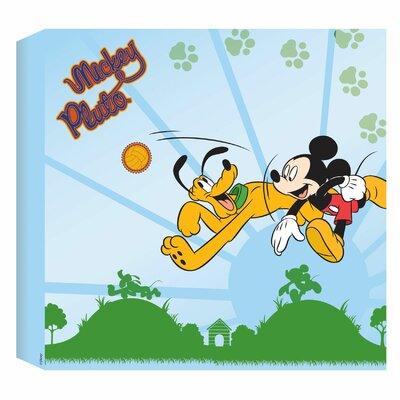 Disney Mouse's Best Friend Vintage Advertisement Wrapped on Canvas