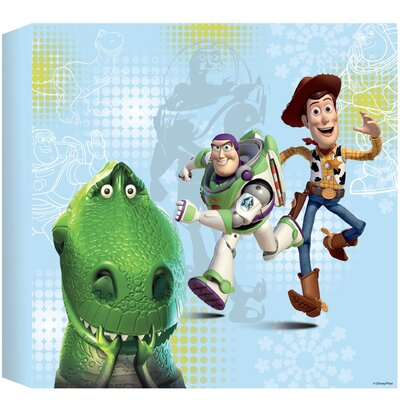 Disney Toy Story Graphic Art Wrapped on Canvas