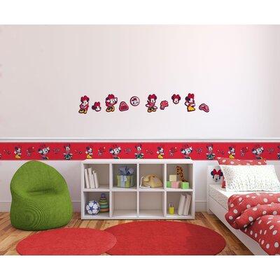 Disney Minnie 10 Piece Mouse Foam Elements Wall Sticker Set