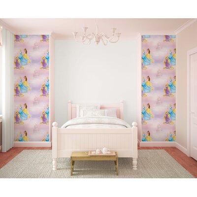 Disney Pretty as a Princess Multi 10m L x 52cm W Roll Wallpaper